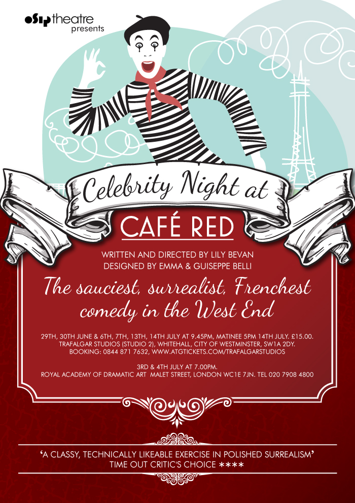 Celebrity Night at Cafe Red